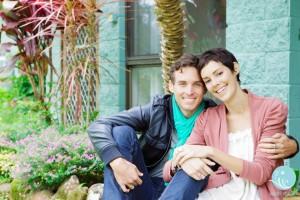 David Rafter and Amanda Rootsey