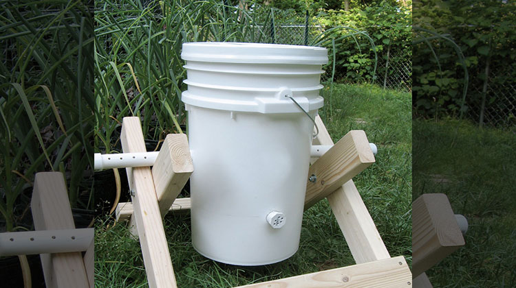 DIY Compost Tumbler