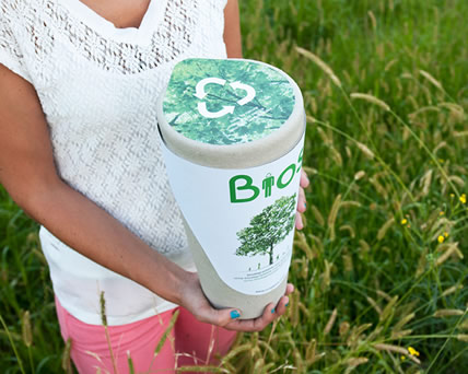 Biodegradable Urns…now that's green